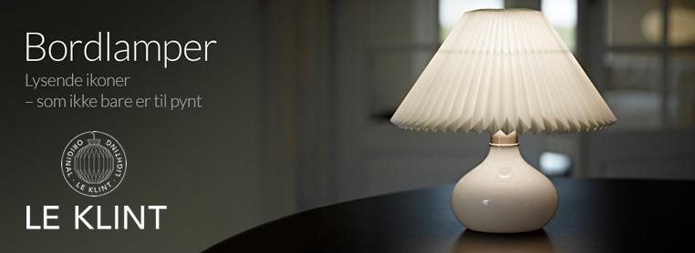 LE KLINT 314W テーブルランプ 照明イメージ