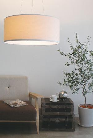 Tessere pendant lampテセレ ペンダントランプLP3058WHの照明イメージ