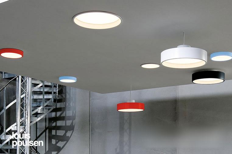 LP Circle Semi Recessed|LPサークル半埋込型|ルイスポールセン|ダウンライト|照明のイメージ