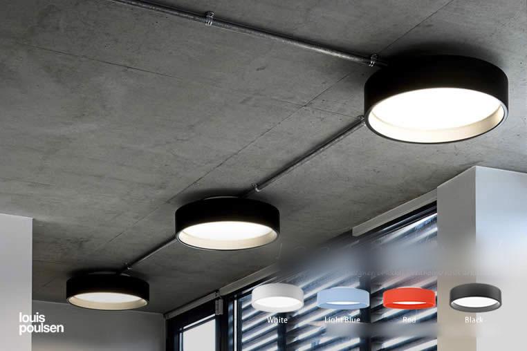 LP Circle Surface Mounted LP サークル 直付型 ルイスポールセン ダウンライト 照明のイメージ