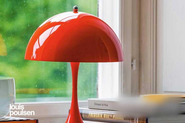 Panthella Mini Table パンテラ ミニ テーブル ルイスポールセン テーブルランプのイメージ