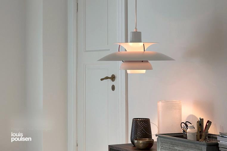 PH5 クラシックホワイト ペンダントライト|ルイスポールセン|LED照明|リビングのイメージ