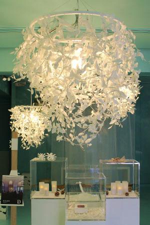 Paper-Foresti (ペーパーフォレスティ) が 創りだす光と影のコントラスト。照明イメージ