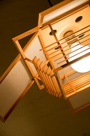羽 hane|ペンダント|和風照明|新洋電気